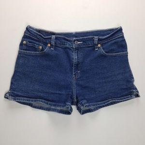 Levi's Shorts - Vintage 90's Levi's Mom Shorts Juniors 11 VTG B649